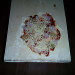 Kachelofenpizza